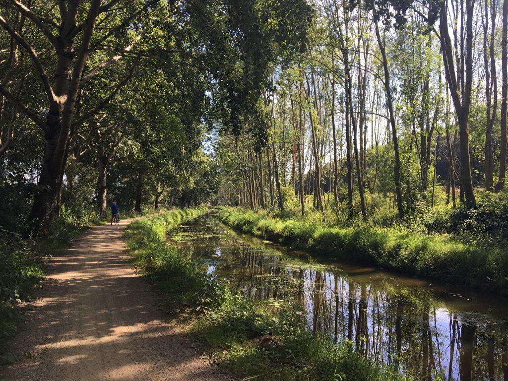 linie 1629 fietsroute tussen Engelen en A59