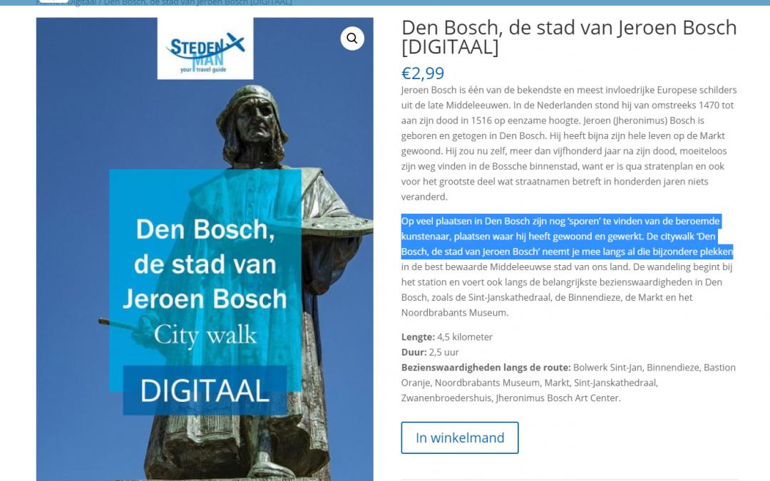 Jeroen Bosch wandeling